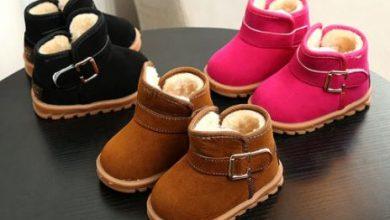 نمشي احذية اطفال