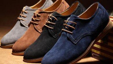 نمشي احذية رجالية